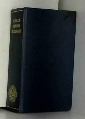 F.G + H.W. Fowler - ThePocketOxfordDictionaryofCurrentEnglish.