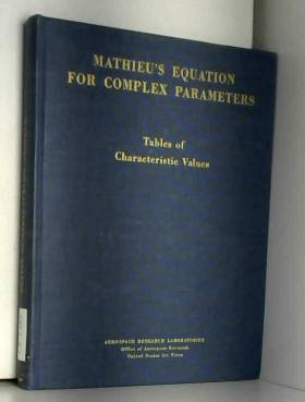Mathieu's Equation for...