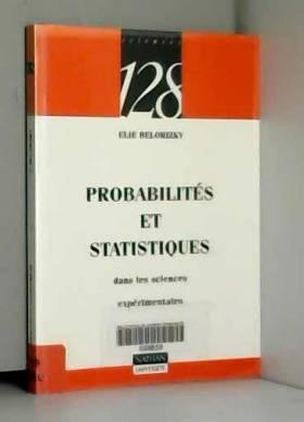 Probabilités et statistique...
