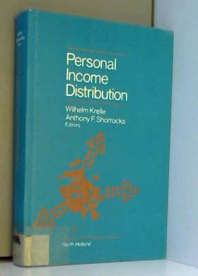Wilhelm Krelle - Personal Income Distribution: Conference Proceedings