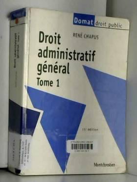 Droit administratif général...