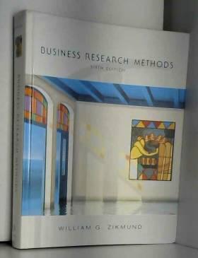 William G. Zikmund - Business Research Methods