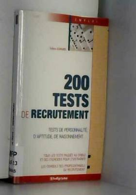 Sabine Duhamel - 200 tests de recrutement
