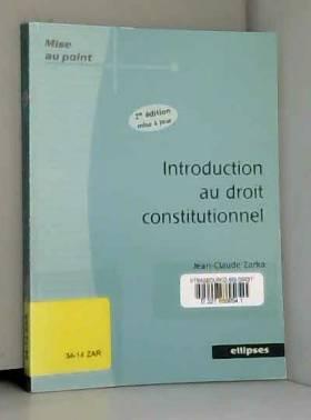 Introduction au droit...