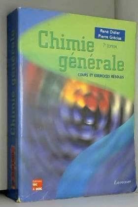 Chimie générale : Cours et...