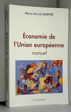 Marie-Annick Barthe - Economie de l'Union européenne