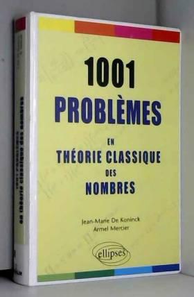 1001 problèmes en théorie...