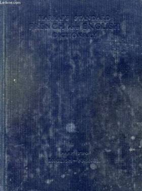MANSION J. E. & ALII - HARRAP'S STANDARD FRENCH AND ENGLISH DICTIONARY, PART II, ENGLISH-FRENCH