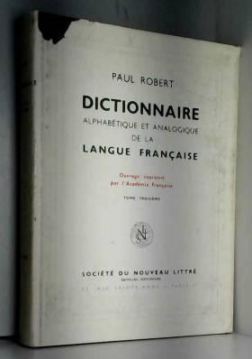 Dictionnaire alphabétique...
