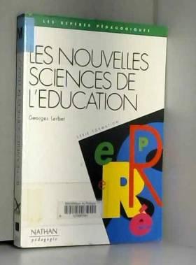 Nouvelles sciences de...