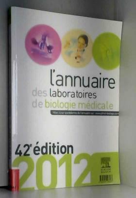 ANNUAIRE DES LABORATOIRES 2012
