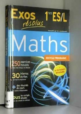 Exos résolus - Maths 1re ES/L