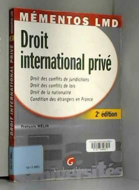 François Mélin - Droit international privé