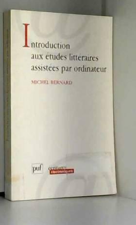 Introduction aux études...