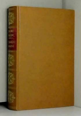 De Balzac Honoré - La comedie humaine (tome XX)
