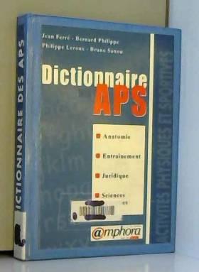 Dictionnaire des APS