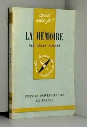 La Mémoire (Que sais-je)