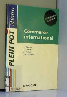 François Duphil et Jacques Duboin - Commerce international : Enseignement supérieur