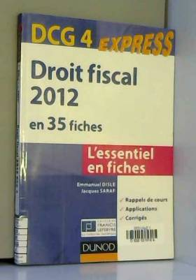Droit fiscal DCG 4 - 2012 -...