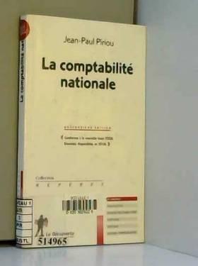 Jean-Paul Piriou - La comptabilité nationale