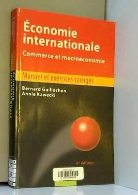 Economie internationale :...