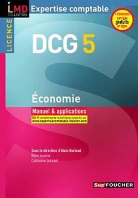 DCG 5 - Economie Manuel et...