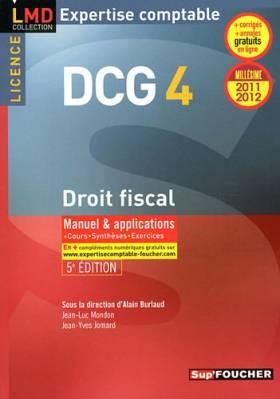 DCG 4 Droit fiscal Manuel...