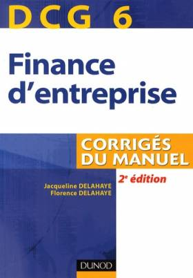 DCG 6 Finance d'entreprise...