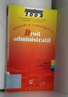 Droit administratif....