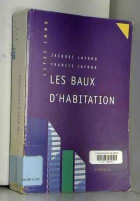 Les Baux d'habitation, 4ème...