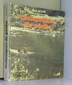 P. Boyer - Techniques de peche