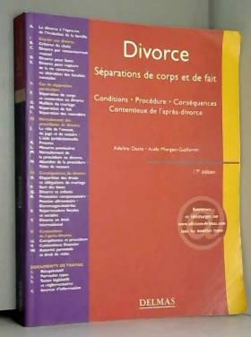 Divorce - Séparations de...