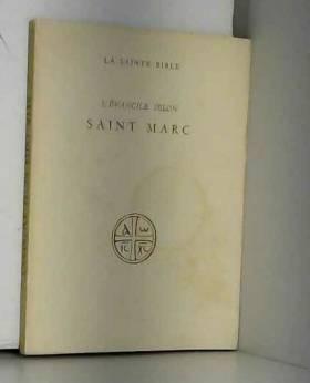 L'evangile selon Saint Marc