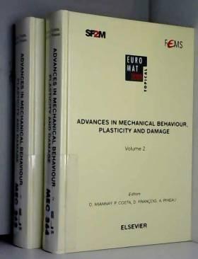 D. Miannay, P. Costa, D. François, A.B Vannes,... - Advances in Mechanical Behaviour, Plasticity and Damage