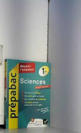 Isabelle Bednarek-Maitrepierre, Bruno Semelin... - Sciences 1re ES, L - Prépabac Réussir l'examen: Cours et sujets corrigés bac - Première ES, L