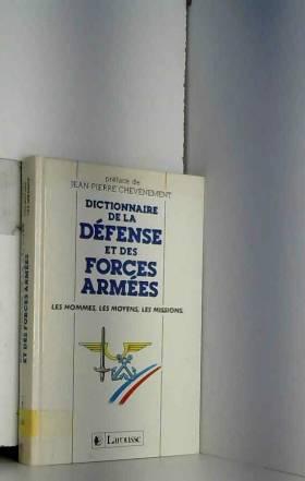 DICTIONNAIRE DE LA DEFENSE...