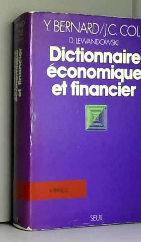 Dictionnaire economique et...