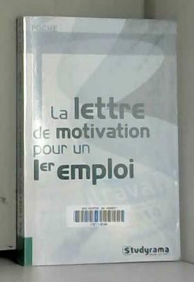 La lettre de motivation...