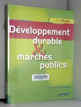 Développement durable et...