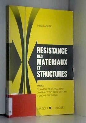 Résistance des matériaux et...