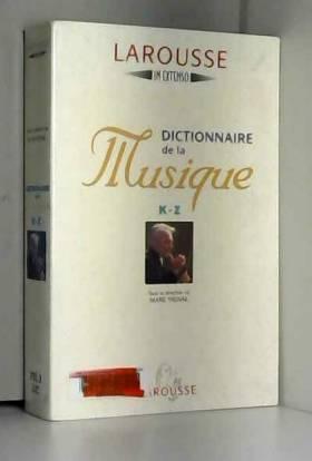 Dictionnaire de la musique K-Z