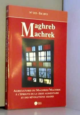 Maghreb Machrek N 215...