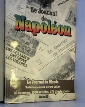Journal de napoleon...