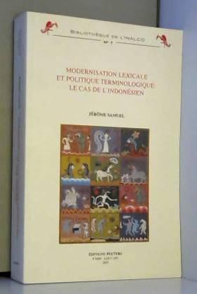 Modernisation Lexicale Et...