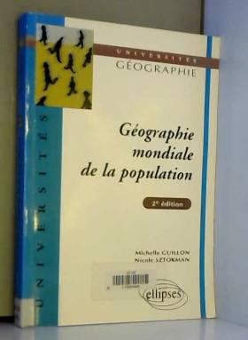 Géographie mondiale de la...
