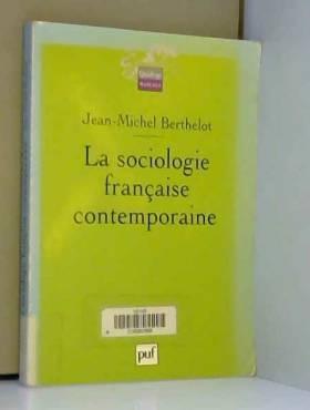 La Sociologie française...