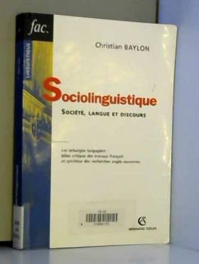 Sociolinguistique :...