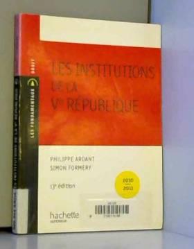 Les institutions de la Ve...