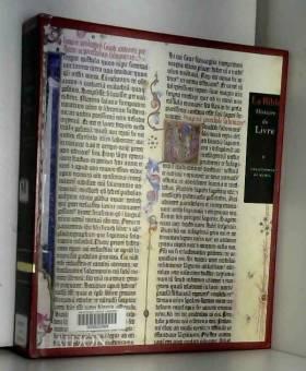 La Bible : Histoire du Livre
