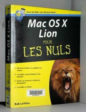 Mac OS X Lion Pour les nuls